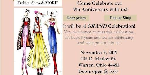 9th Anniversary Celebration & Fashion Show & More!