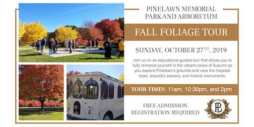 Pinelawn's 2nd Annual Fall Foliage Tour 2019