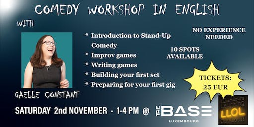 Stand-Up Comedy Workshop in English