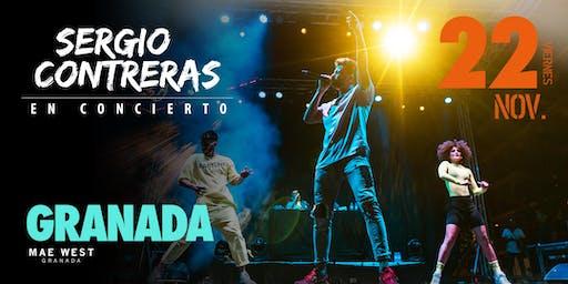 Sergio Contreras en concierto en GRANADA
