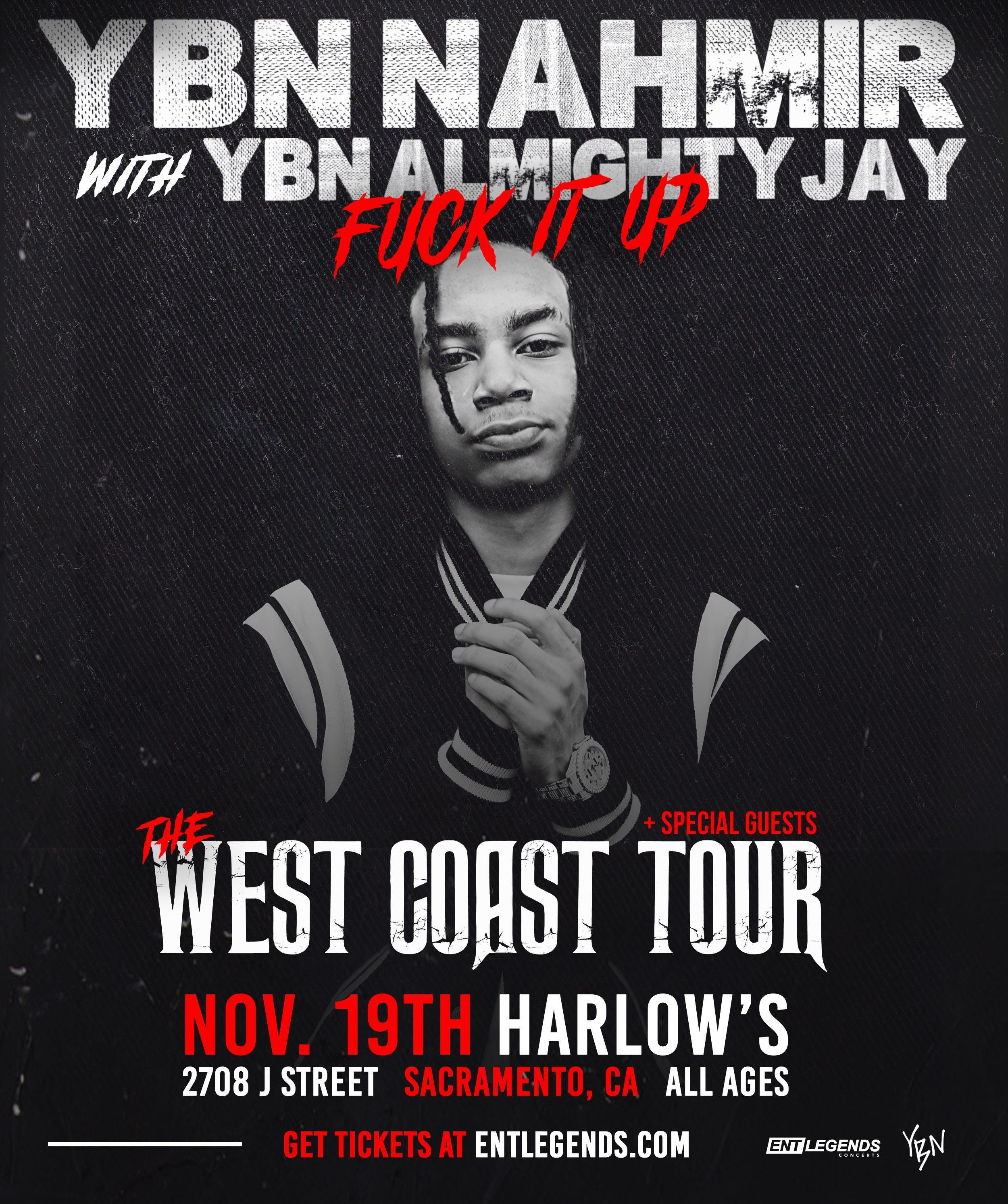 Image result for YBN NAHMIR tour""