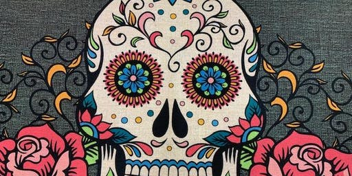 Paint your Welcome Mat - Sugar Skull ~ BYOB