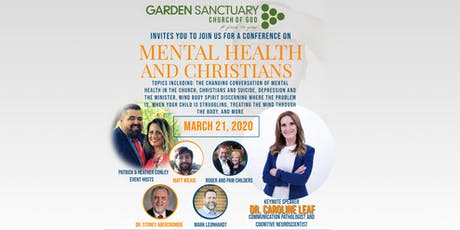 Mental Health and Christians, a conference by Garden Sanctuary tickets