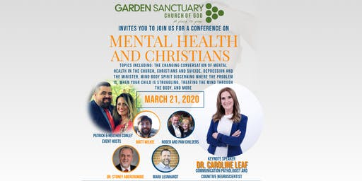 Mental Health and Christians, a conference by Garden Sanctuary