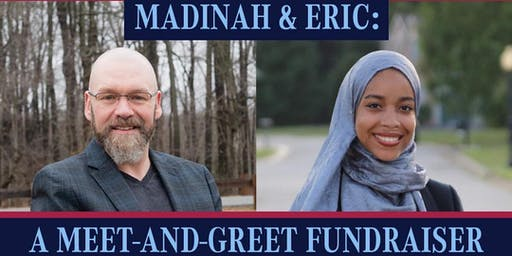 Madinah & Eric: A Meet & Greet Fundraiser
