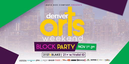 Denver Arts Week Block Party in RiNo