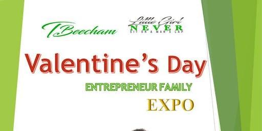 Valentine's Day Entrepreneur Family EXPO