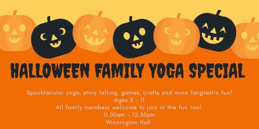 Halloween Family Yoga Special