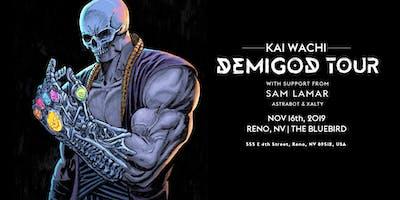 Kai Wachi Demigod Tour w/ Sam Lamar