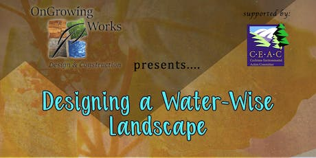 Designing a Water-Wise Landscape tickets