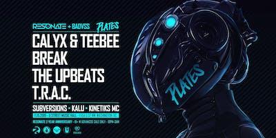 Plates Tour w/ Calyx & Teebee, Break, The Upbeats, T.R.A.C. & More