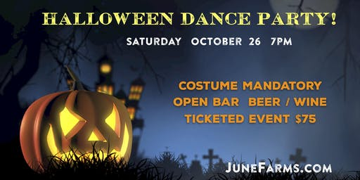 June Farms Halloween Dance Party