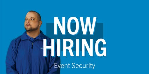 Choose a Job in Event Security - Allied Universal Event Services - Job Fair