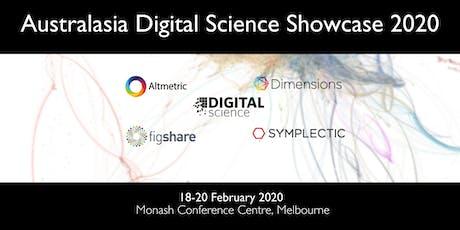 Australasia Digital Science Showcase 2020 tickets