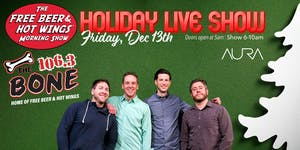 Free Beer & Hot Wings Holiday Live Show