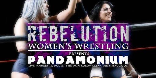 Rebelution Women's Wrestling Presents : Pandamonium