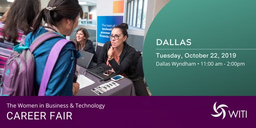 WITI 2019 Career Fair Dallas