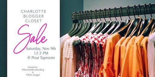 CLT Blogger Closet Sale - November 9