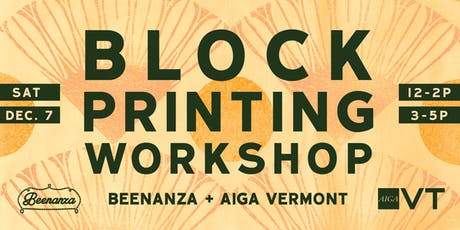Block Printing Workshop Session #2 tickets