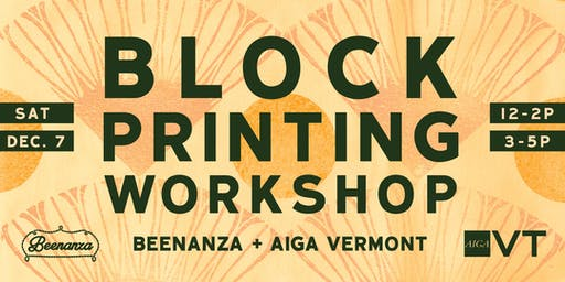 Block Printing Workshop Session #2
