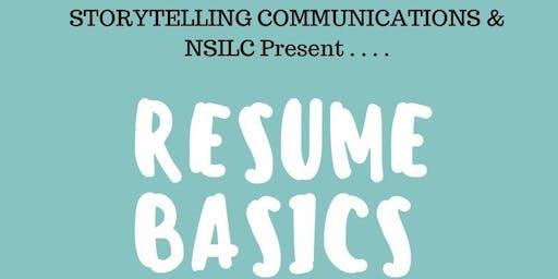 Resume Basics: A Lunch 'n Learn