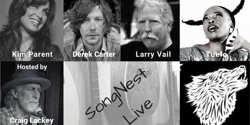 SongNest presents Craig Lackey and friends, Tuesday October 22nd, 2019