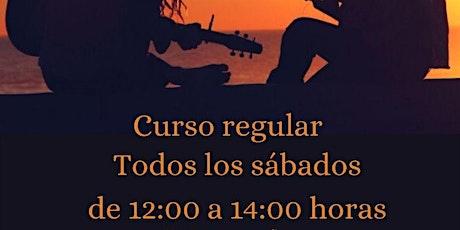 Clases de Guitarra entradas