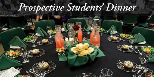 Prospective Student Dinner November 20, 2019