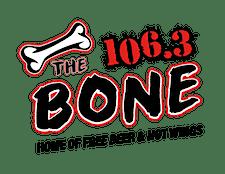 106.3 The Bone logo