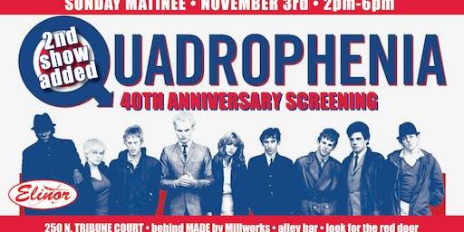 Quadrophenia 40th Anniversary Screening - Matinee