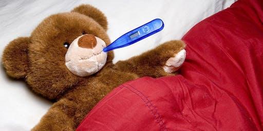 Teddy Bear Clinic at Taunton Lights On Festival
