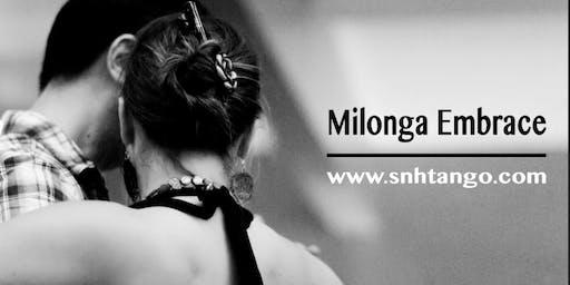 Nov. Milonga Embrace, An Argentine Tango Social