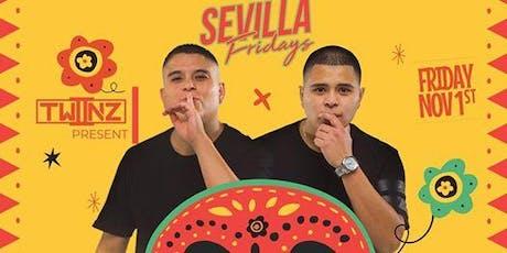 Duo DJ Twiinz at Sevilla Nightclub Discounted Guestlist - 11/01/2019 tickets