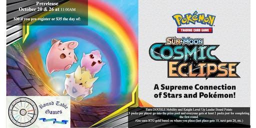 Pokemon Sun & Moon - Cosmic Eclipse Prerelease Tournament