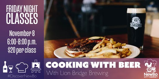 Cooking with Beer with Lion Bridge Brewing
