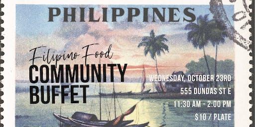 FILIPINO COMMUNITY BUFFET