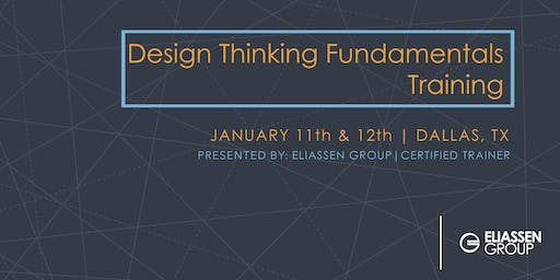 Design Thinking Fundamentals (DTF) - Dallas (Guaranteed to run)