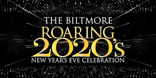 New Year's  Eve Roaring 2020's  Gala Dinner at The Biltmore