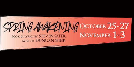 SPRING AWAKENING by Steven Sater and Duncan Sheik