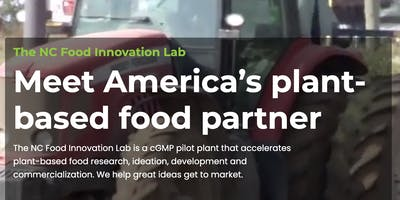 NC Food Innovation Lab Tour