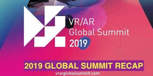 VRARA Toronto Chapter - 2019 Global Summit Recap Event