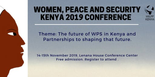 Women, Peace and Security  Kenya 2019 Conference