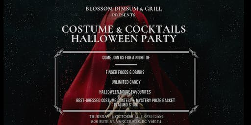 Costumes & Cocktails Halloween Party
