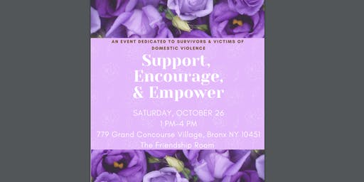 Support, Encourage, and Empower