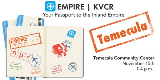 Empire | KVCR Community Forum Temecula