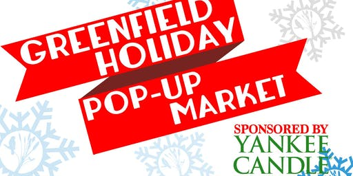 Greenfield Holiday Pop Up Market