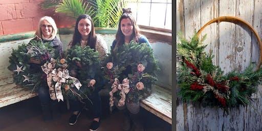 Hoop Wreath Workshop