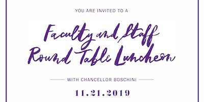 TCU Faculty/Staff Round Table