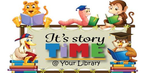 Storytime Wednesday, October 30th
