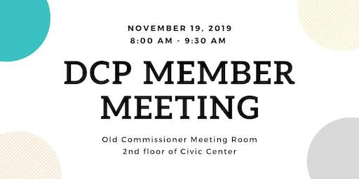 November DCP Member Meeting